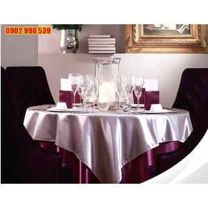 Khăn trải bàn dùng trong nhà hàng
