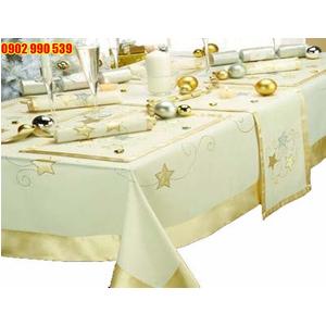 Khăn trải bàn nhà hàng sang trọng