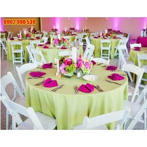 Khăn trải bàn nhà hàng tiệc cưới