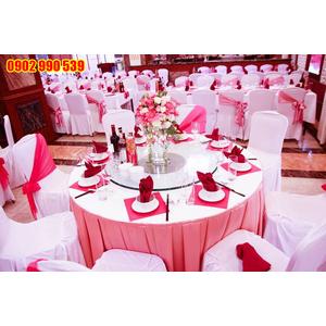 Khăn trải tiệc cưới