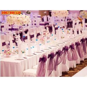 Khăn trải tiệc cưới đẹp