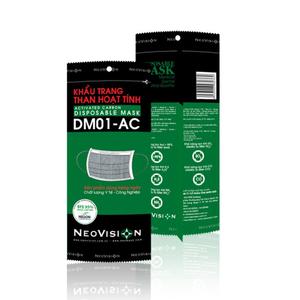 Khẩu trang than hoạt tính Neovision DM01-AC