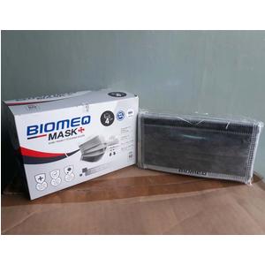 Khẩu trang y tế 4 lớp kháng khuẩn Biomeq (xám)
