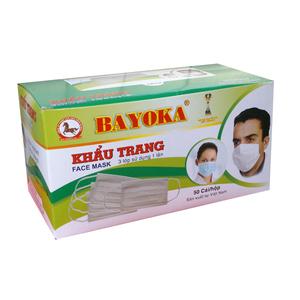 Khẩu trang y tế Bayoka
