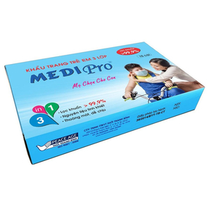 Khẩu trang y tế trẻ em 3 lớp Medipro