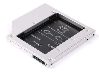 Khay ổ cứng Laptop (Caddy bay) 2.5inch SATA 3, khay đựng SSD/HDD cho laptop
