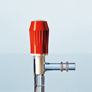 Khóa thẳng PTFE cho chai có vòi vặn GL 32 - DURAN