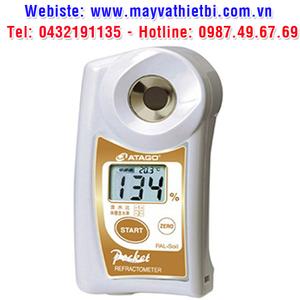 Khúc xạ kế Atago đo độ ẩm của đất - Model PAL-Soil