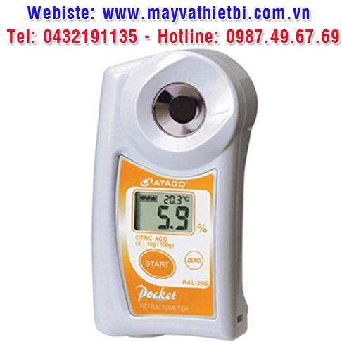 Khúc xạ kế Atago đo nồng độ acid citric - Model PAL-29S