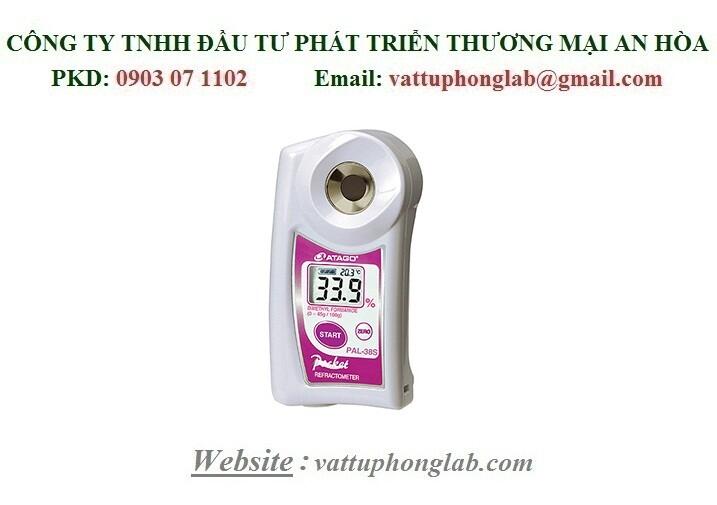 Khúc Xạ Kế ATAGO Đo Nồng Độ Dimethyl Formamide Model:PAL-38S