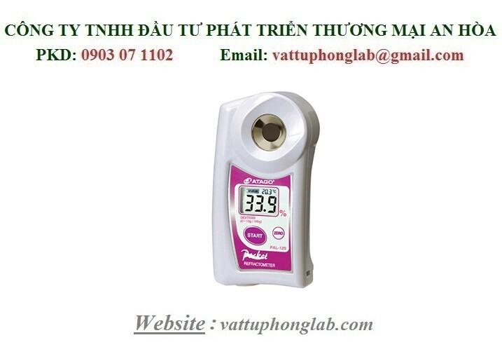Khúc Xạ Kế ATAGO Đo Nồng Độ Dung Dịch Dextran Model:PAL-12S