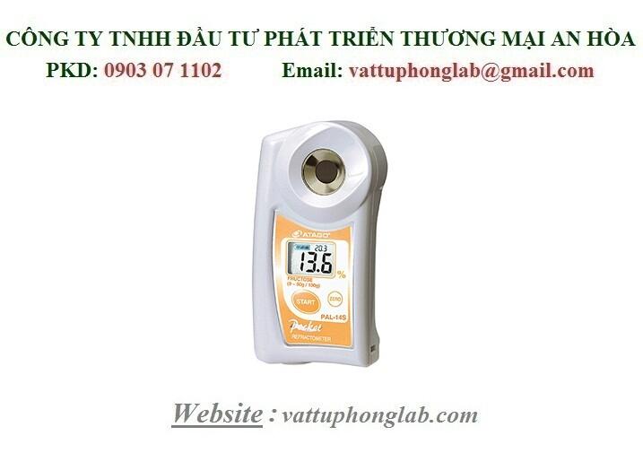 Khúc Xạ Kế ATAGO Đo Nồng Độ Dung Dịch Fructose Model:PAL-14S