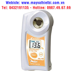 Khúc xạ kế Atago đo nồng độ dung dịch xi-rô bắp (HFCS-42) - Model PAL-16S