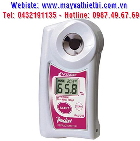 Khúc xạ kế Atago đo nồng độ glycerin (Nồng Độ Cao) - Model PAL-24S