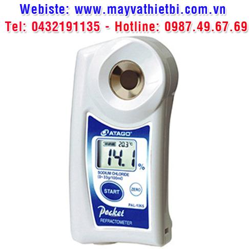 Khúc xạ kế Atago đo nồng độ natri clorua - Model PAL-106S