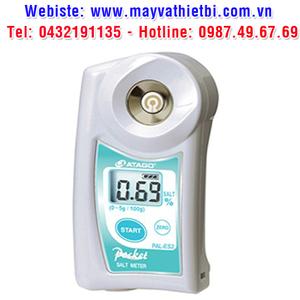 Khúc xạ kế Atago đo nồng độ nước mặn bằng phương pháp dẫn suất - Model PAL-ES2