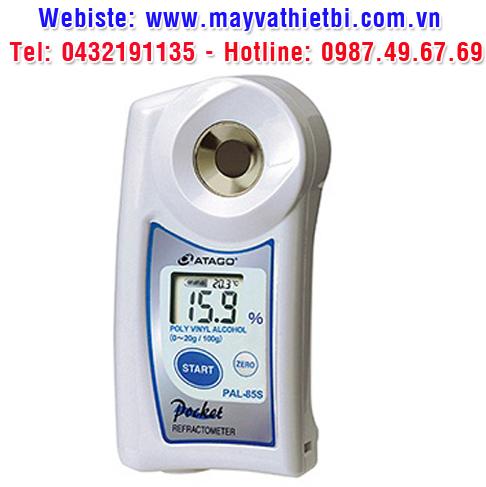 Khúc xạ kế Atago đo nồng độ Polyvinyl Alcohol - Model PAL-85S