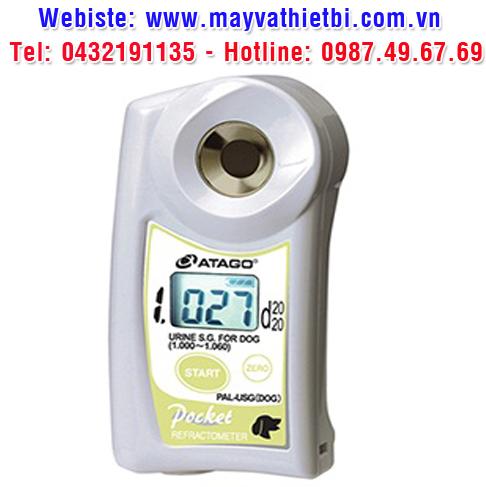 Khúc xạ kế Atago dùng cho đo trọng lượng riêng nước tiểu của chó - Model PAL-USG (DOG)