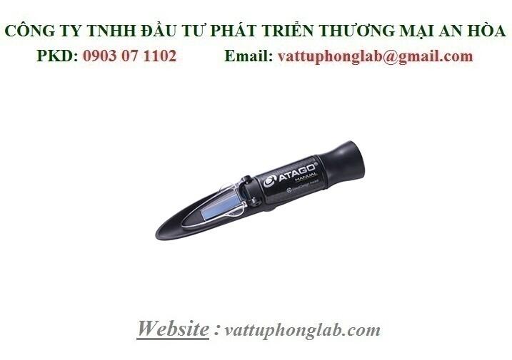 Khúc Xạ Kế Cầm Tay M Series ATAGOĐo Nhiệt Độ Đóng Băng E.G & P.G Model:MASTER-Coolant-Battery