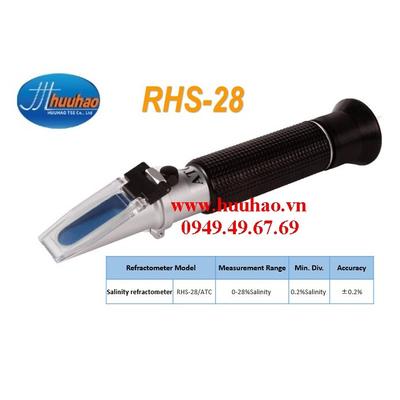 Khúc xạ kế đo độ mặn của muối RHS-28