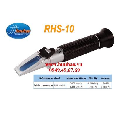 Khúc xạ kế đo độ mặn nước biển RHS-10