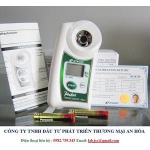 Khúc xạ kế đo độ ngọt điện tử hiện số Atago PAL-3