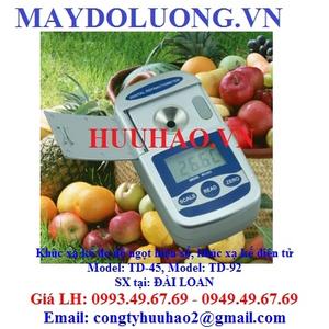 Khúc xạ kế đo độ ngọt hiện số TD-92