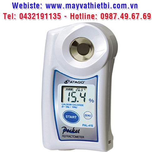 Khúc xạ kế Atago đo nồng độ canxi clorua - Model PAL-41S