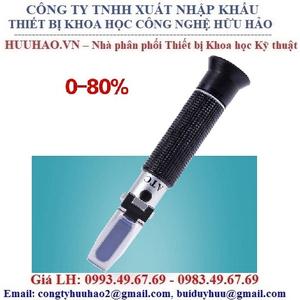 Khúc xạ kế đo nồng độ cồn trong rượu LH-J80