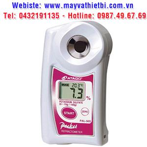 Khúc xạ kế Atago đo nồng độ kali sulfat - Model PAL-56S
