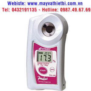 Khúc xạ kế Atago đo nồng độ natri sulfat - Model PAL-58S