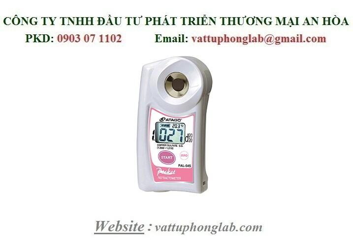 Khúc Xạ Kế K Đo Trọng Lượng Riêng Đồng Sunfat - ATAGO MODEL:PAL-54S