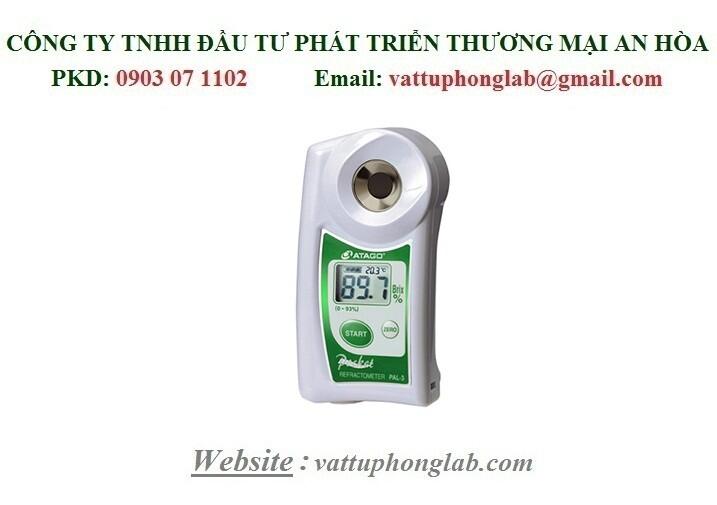Khúc Xạ Kế Kỹ Thuật Số Bỏ Túi PAL - ATAGO Model:PAL-3