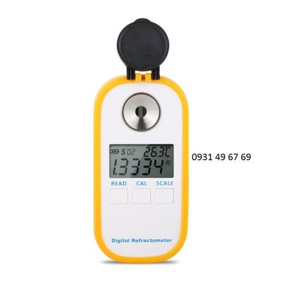 Khúc xạ kế kỹ thuật số đo lượng đường trong rượu vang DR401 0-45%