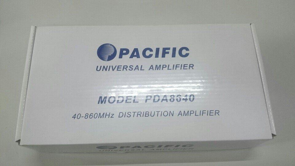 Bộ khuếch đại tín hiệu truyền hình cáp tốt nhất Pacific PDA 8640