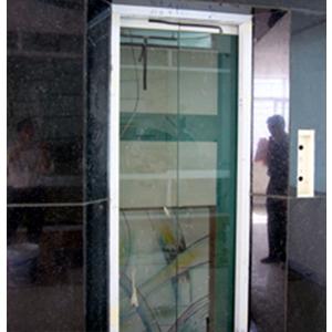 Khung bản hẹp - Không có hiển thị trên - Cánh cửa Kính cường lực 12ly