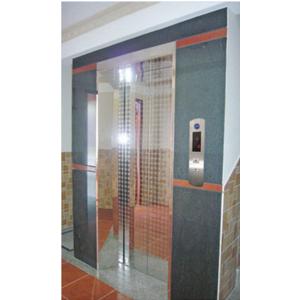 Khung Bản Rộng : Inox Gương - Cánh Cửa : Inox Gương Hoa Văn TT - D006