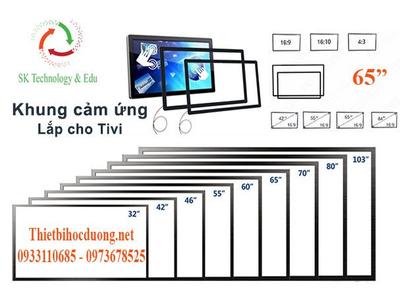 Khung Cảm Ứng Gaoke 65inch