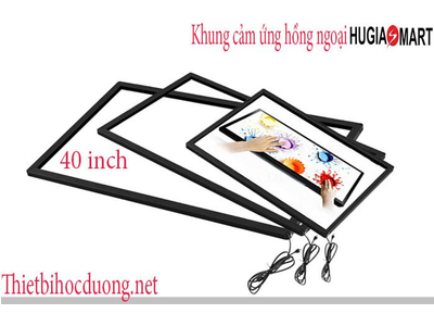 Khung cảm ứng hồng ngoại màn hình 40 Inch Hugia smart