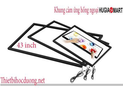 Khung cảm ứng hồng ngoại màn hình 43 Inch Hugia smart
