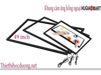Khung cảm ứng hồng ngoại màn hình 49 Inch Hugia smart
