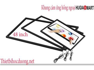 Khung cảm ứng hồng ngoại màn hình 48 Inch Hugia smart