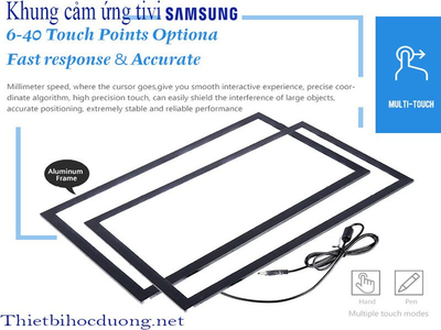 Khung cảm ứng Tivi Samsung 40 inch