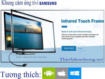 Khung cảm ứng Tivi Samsung 50 inch