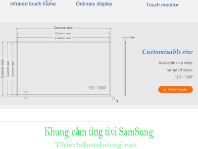 Khung cảm ứng Tivi Samsung 60 inch