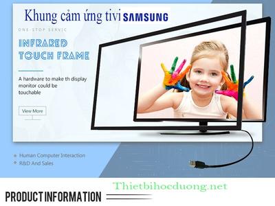 Khung cảm ứng Tivi Samsung 65 inch