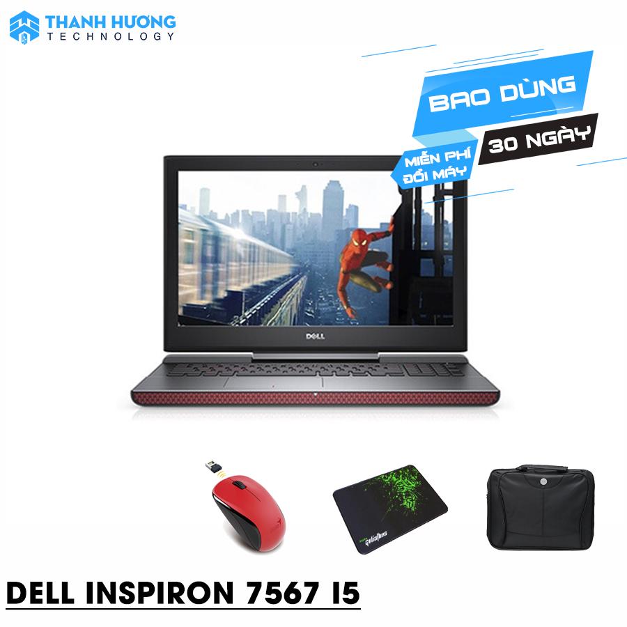 Dell Inspiron N7567A Core i5 7300HQ  Ram 8GB  SSD 128 + 1000GB   VGA rời GTX 1050ti 4GB GD Full HD