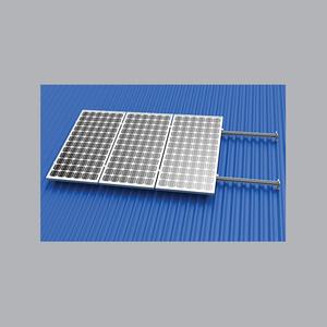 Khung Lắp Đặt MPE Solar Trên Mái Tole