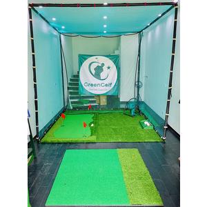 [Combo 03] Bộ Chơi Golf Tập Đầy Đủ Kỹ Thuật Golf Tại Nhà Gồm Khung Tập Swing Golf, Thảm Swing, Giỏ Chip Golf, Thảm Putting
