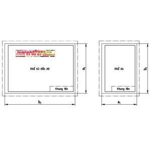 Hướng dẫn vẽ khung tên A4 cho bản vẽ autocad